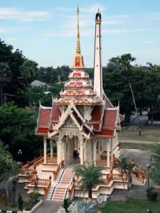 Temple, Wat Chalong, Phuket, Thailand