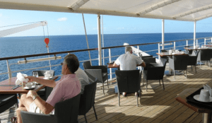 Wind Surf's Veranda is open for breakfast and lunch