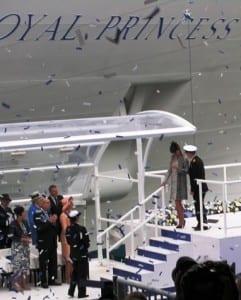 The Duchess of Cambridge at the Royal naming