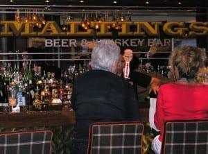 Bar hopping aboard Norwegian Breakaway