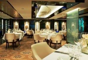 Private restaurant in The Haven on Norwegian Breakaway
