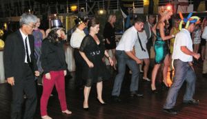 Dancing in the New Year on Riviera