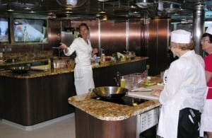 Expert Master Chefs provide cooking instruction at classes in Riviera's Bon Appétit Culinary Center. Cost is $69.