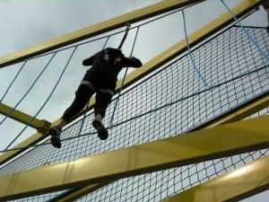 Ropes course on Norwegian Breakaway