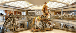 Crystal Cruises spends as much as $100,000 on decorations