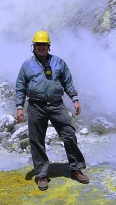 David Molyneaux on White Island