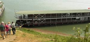 The 16-cabin Avalon Angkor