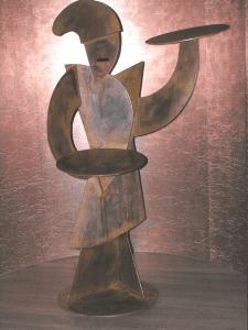 Sculpture on MSC Divina