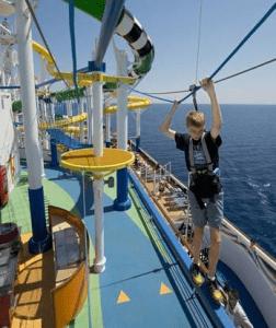 Sunshine ropes course