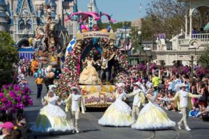 The Princess Garden rolls down Main Street
