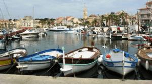 Harbor at Sanary-sur-Mer, France
