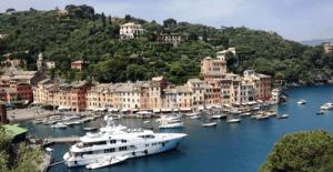 Harbor at Portofino, Italy