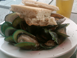 Green-lipped mussels in Wellington