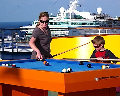 New Carnival Magic Dazzles With Water Wonders AllThingsCruise - Cruise ship pool table