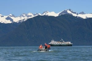 Wilderness Adventurer in Alaska(photo courtesy of Un-Cruise Adventures)