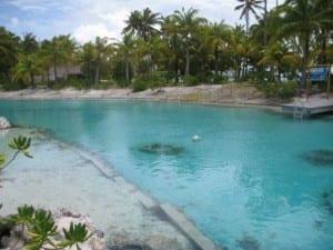 Private Lagoon at St. Regis