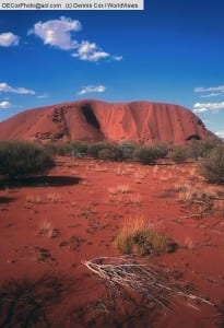 Australia: Uluru (Ayers Rock) in the outback