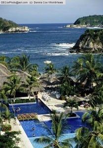 Mexico: Huatulco's Tangolunda Bay from Sheraton Resort
