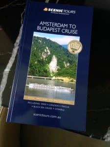 Each cabin is provided a guidebook of cruise region