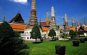 Bangkok, Thailand: Grounds of the Grand Palace