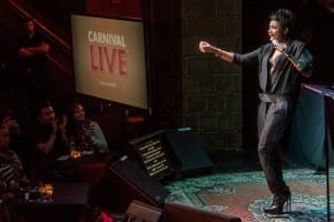 """Jennifer Hudson performs as part of Carnival Cruise Lines """"Carnival Live Concert Series""""  Photo courtesy of Insider Images/Carnival Cruise Lines"""
