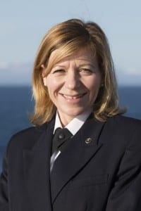 Captain Margrith Ettlin (Photo Courtesy of Silversea Crusies)