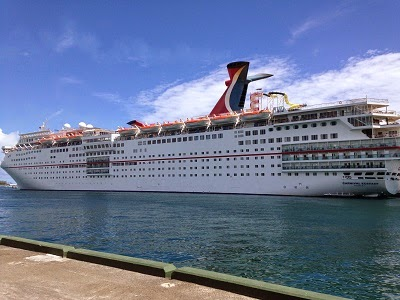 Cruise Review Carnival Ecstasy