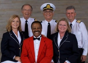 Love Boat Cast-Godparents of the Regal Princess (Photo courtesy of Princess Cruises)