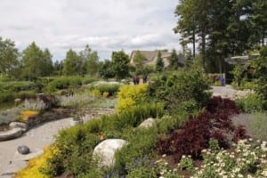 Coastal Maine Botanical Gardens,-- which opened in 2007 coavers some 300 acres in Boothbay, ME