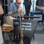 Hot glass show