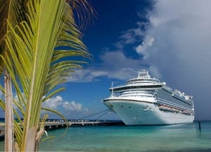 Crown Princess, image courtesy of Princess Cruises
