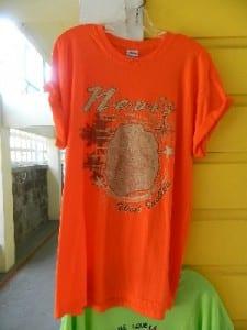 A shirt shop in Nevis