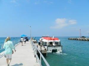 Nevis is a tender port