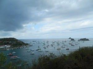 The harbor at Gustavia, St. Barts