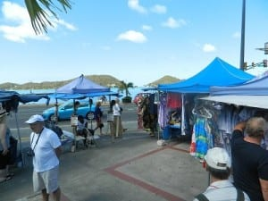 Shopping for bargains in St. Thomas
