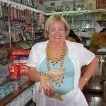 """Pat with her """"jewels"""""""