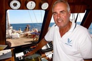Georgios Hatzidakis, captain of our cruise ship.