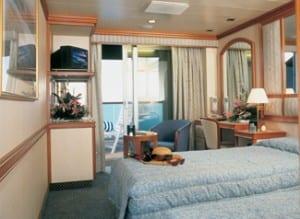 Balcony Cabin Photo credit: Princess Cruises