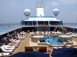 Nautica's pool deck