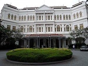 Singapore's legendary Raffles Hotel