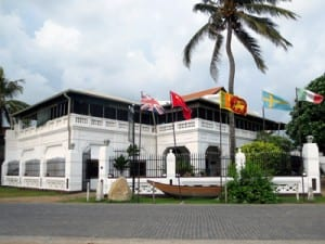 Ramparts Hotel in Galle