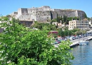 "The ""new"" Corfu fort"