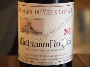 "Some ""Exceptionnelle"" Chateauneuf-du-Pape"