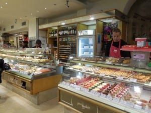 Inside the Gerard Mulot pastry shop