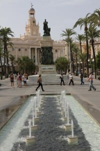 Cadiz was built with wealth generated by gold and silver from the New World, Cadiz, Spain.