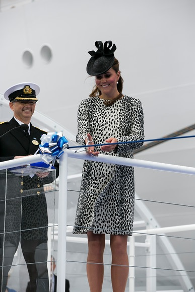 Royal Princess ceremony- Image courtesy of Princess Cruises- © Photography by Steve Dunlop
