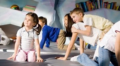 MSC Kids Clubs put the focus on children.  Image courtesy of MSC.