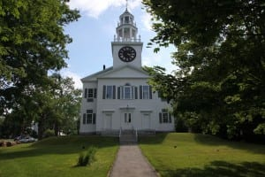 Known as the First Church in Belfast, this Federal-style Congregational church dates to 1818