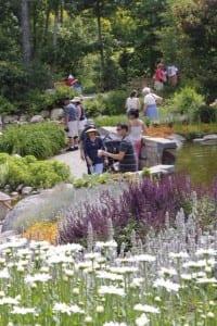 Lerner Garden of Five Senses at-- Coastal Maine Botanical Gardens, Boothbay, ME