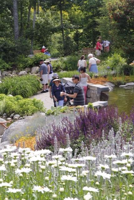 Lerner Garden Of Five Senses At   Coastal Maine Botanical Gardens, Boothbay,  ME